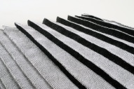 Falten schwarz-weiß